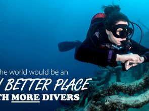 The world would be an even better place with more scuba divers